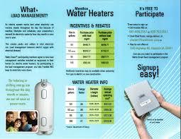 Cost Water Heater Marathon High Efficiency Water Heaters Franklin Rural Electric