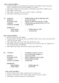 Sample Resume Welder Job Description Welders Resume Resume Cv Cover