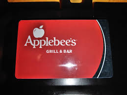 applebees gift card 1 of 3