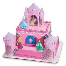 Decopac Disney Princess Castle Cake Kit Decorations Topper