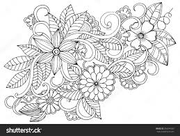 Small Picture Flower Design Coloring Pages Coloring Pages