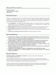 Nurse or Nursing Sample Resume Example
