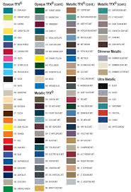 Universal Products Vinyl Color Chart Vehicle Graphics Pinstripes 8 16 In X 150 Ft Opaque