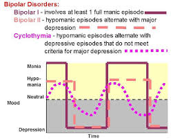 Graph Illustrating The Differences Between Bipolar 1