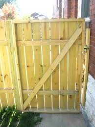 Contemporary Wood Fence Gate Plans Wooden Free Inside Decor