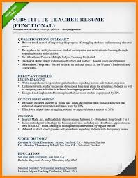 6 Format Of Resume For Teaching Job Good New World