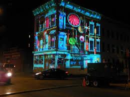 Cincinnati Light Show October 2017 The Urban Light Art Festival As Branding And Commons