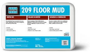 Self Leveling Coverage Chart 209 Floor Mud Laticrete