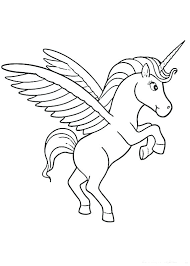 unicorn coloring pages unicorn color page flying unicorn coloring pages rainbow top for toddlers printable free