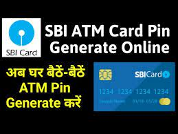 how to generate sbi atm card pin