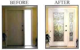 china supplier paint room door glass insert wooden interior solid wood