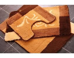 lovable orange bathroom rugs with orange bath rug set cievi home
