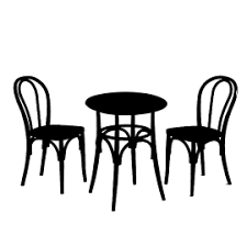 Eames lounge chair longsheng station zuiyi western restaurant, armchair, furniture, chinese style png. Cafe Table Silhouette Png Cafe Table Png Cafe Table