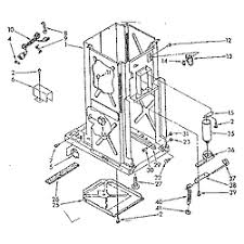 kenmore trash pactor wiring diagram free download kenmore Kenmore Heat Pump Wiring Diagram Also Amana Side By kenmore trash compactor parts model 6651396581 sears partsdirect