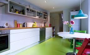 Kitchen Flooring Trends with Green Kitchen Flooring Ideas