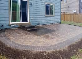 square concrete paver patio. Paver Patio You Can Look Square Concrete Pavers