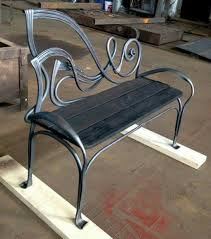 Cast Iron Victorian Garden Benchlove The White For The Cottage Garden Metal Bench