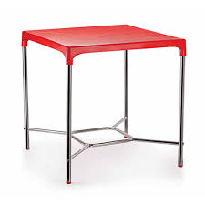 dining table red