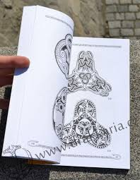Vikinské A Slovanské Ornamentální Motivy Drakkariacz