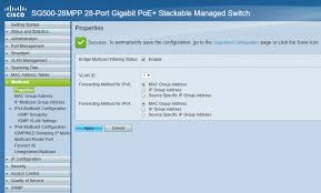Ip Address Configuration Chart How To Configure Cisco Sg300 Sg500 For Networked Av
