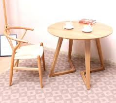 side tables oak round side table small circle coffee all solid wood creative balcony pure