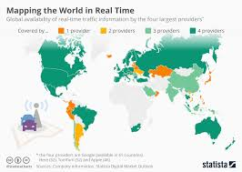 Chart Mapping The World In Real Time Statista