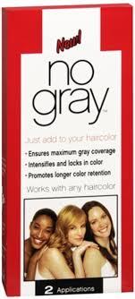 No Gray Haircolor 2 Each Pack