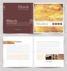 template booklet design cover and inside pages stock vector art 1 credit