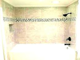replacing shower tiles on walls tile shower cost average cost to replace a bathtub install tile