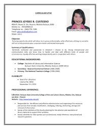 Ultimate Job Application Resume Model In Resume Sample Applying