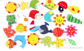 childrens magnets hot x wooden animal fridge baby