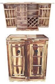 Orientalischer Hausbar Bartheke Aufklappbar Aus Massivholz