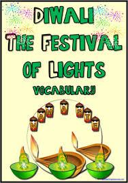 Diwali Festival Vocabulary Cards