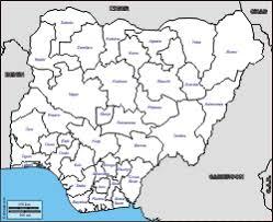 Nigeria Free Maps Free Blank Maps Free Outline Maps Free Base Maps