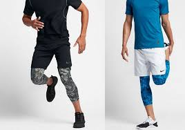 nike 3 4 tights. nike pro dry men\u0027s 3/4 training tights (blue only) $19.97 (regularly $35) just $15.98 shipped after promo code savemore20 3 4 0