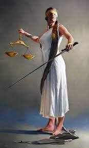 Bryan Larsen: Justice | Classical realism, Lady justice, Art