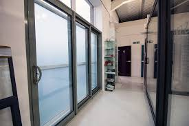 triple panel sliding door