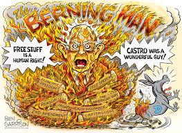 Berning Man – Grrr Graphics - Ben Garrison Cartoon | CDN