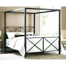 Ikea Black Metal Bed Frame Iron Bed Queen Modern Romance Metal Queen ...