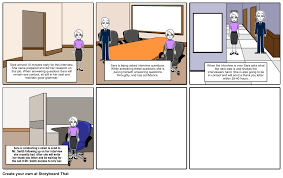 The Perfect Interview Storyboard By Shaden