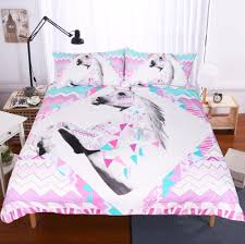 bedding sets unicorn pattern quilt duvet cover set pillowcase animal bedding set pillowcases bedclothes all size sj143 cotton comforter sets white duvet