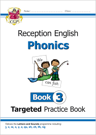 This page contains all our printable worksheets in section phonics of preschool and kindergarten english language arts. English Targeted Practice Book Phonics Reception Book 3 Cgp Books