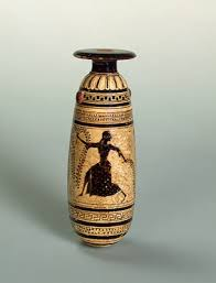 best ancient greek r art of the african images on  alabastron psiax ancient attica 520s bc clay black figure painting