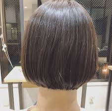 最近のボブスタイル くせ毛ショート 美容師 小浜田吾央