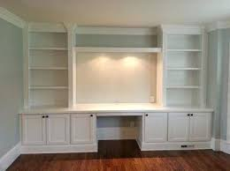 Home offices fitted furniture White Built In Cabinets For Your Home Desk Ideas Office Desks Design Furniture Fitted Uk Built In Office Furniture Ready Home Offices Newspodco