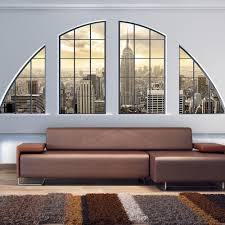 Vlies Fototapete Tapeten Xxl Wandbilder Tapete Fenster Stadt C C