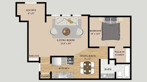 3 Bedroom Floor Plans Interesting Decoration