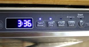 ons on your dishwasher do