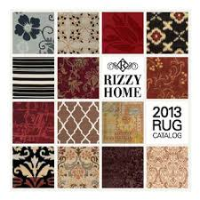 cover of rizzy home s new catalog