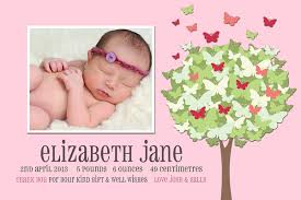 Baby Thankyou Birth Announcement Cards Baby Thank You Notes And Invitations For